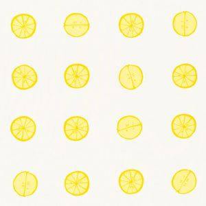 178260 LEMONADE Lemon Schumacher Fabric