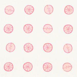178261 LEMONADE Grapefruit Schumacher Fabric