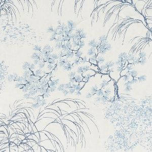178360 MORI SHEER Porcelain Schumacher Fabric