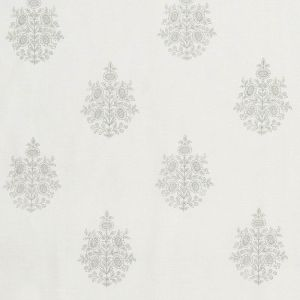 178370 ASARA FLOWER SHEER Grey Schumacher Fabric