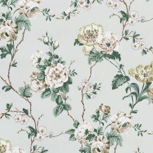 5009872 BETTY Celadon Schumacher Wallpaper