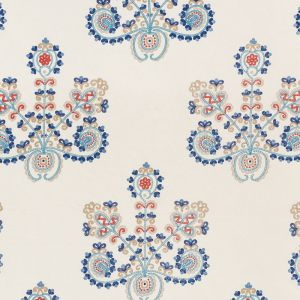 74450 ESTRELLA Indigo Spice Schumacher Fabric
