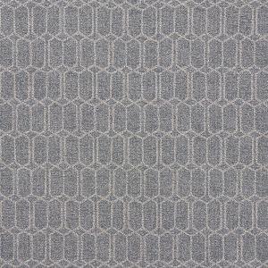 75400 MODERN TRELLIS OUTDOOR Slate Schumacher Fabric