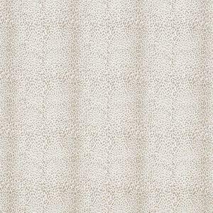 75433 MINI LEOPARD OUTDOOR Taupe Schumacher Fabric