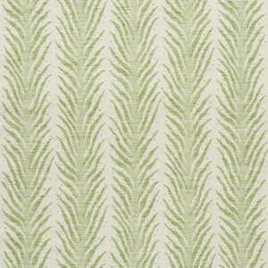 75452 CREEPING FERN Moss Schumacher Fabric