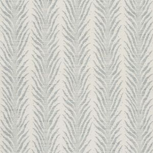 75453 CREEPING FERN Slumber Blue Schumacher Fabric