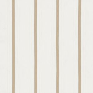 75762 STRIPE APPLIQUE SHEER Tan Schumacher Fabric