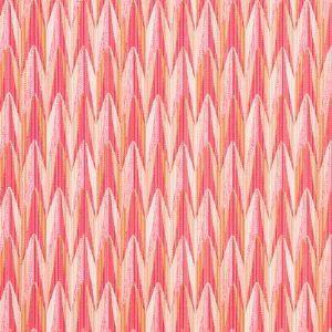 75911 VERDANT Pink Orange Schumacher Fabric