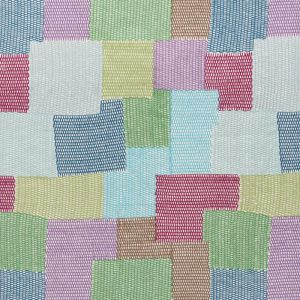 76180 CARNABY Blue Green Schumacher Fabric