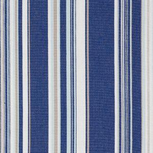 76630 PONDEROSA STRIPE Blue Schumacher Fabric