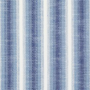 76660 COLADA STRIPE Blue Schumacher Fabric