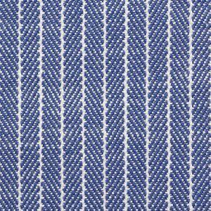 76672 GARTER STRIPE Blue Schumacher Fabric