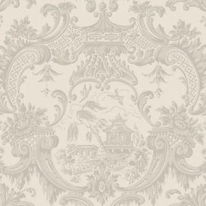 100/3012-CS CHIPPENDALE CHINA Linen Cole & Son Wallpaper