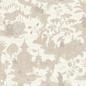 100/8039-CS CHINESE TOILE Neutral Cole & Son Wallpaper