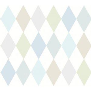 103/2011-CS PUNCHINELLO Soft Blue Cole & Son Wallpaper