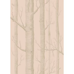 103/5024-CS WOODS Pink Gilver Cole & Son Wallpaper