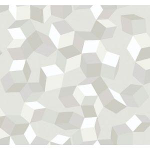 105/2008-CS PUZZLE White On White Cole & Son Wallpaper