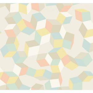 105/2009-CS PUZZLE Pale Pastel Cole & Son Wallpaper