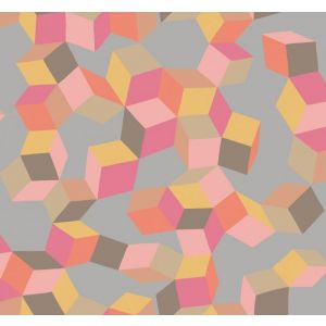 105/2010-CS PUZZLE Pink And Orange Cole & Son Wallpaper
