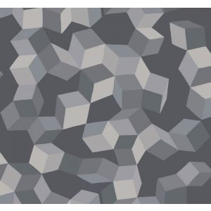 105/2011-CS PUZZLE Grey And Black Cole & Son Wallpaper