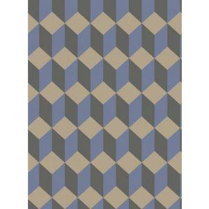 105/7034-CS DELANO Blue And Black Cole & Son Wallpaper