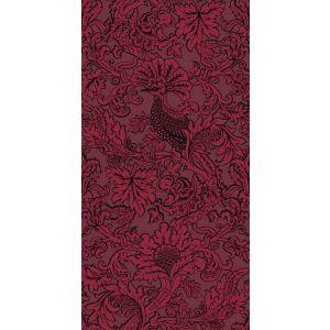 108/1004-CS BALABINA Velvet Red Cole & Son Wallpaper