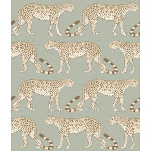 109/2009-CS LEOPARD WALK Olive White Cole & Son Wallpaper
