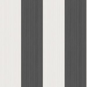110/4025-CS JASPE STRIPE Black + White Cole & Son Wallpaper