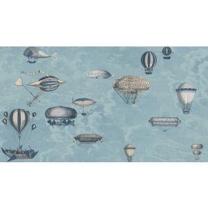 114/10021-CS MACCHINE VOLANTI Slate Blue Gilver Cole & Son Wallpaper