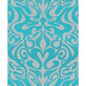 69/7128-CS WOODSTOCK Aqua Cole & Son Wallpaper