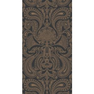95/7044-CS MALABAR Bronze Black Cole & Son Wallpaper