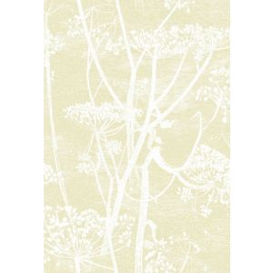 95/9053-CS COW PARSLEY Straw White Cole & Son Wallpaper