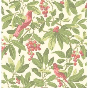 98/1002-CS ROYAL GARDEN Olive Pink Cole & Son Wallpaper