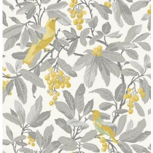 98/1003-CS ROYAL GARDEN Grey Yellow Cole & Son Wallpaper