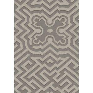 98/14056-CS PALACE MAZE Dk Linen Gilver Cole & Son Wallpaper