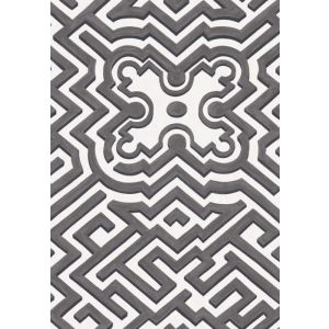 98/14057-CS PALACE MAZE Black White Cole & Son Wallpaper