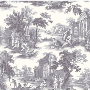 99/1003-CS VILLANDRY Charcoal Cole & Son Wallpaper
