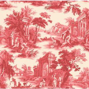 99/1004-CS VILLANDRY Red Cole & Son Wallpaper
