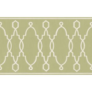 99/3012-CS PARTERRE BORDER Leaf Green Cole & Son Wallpaper