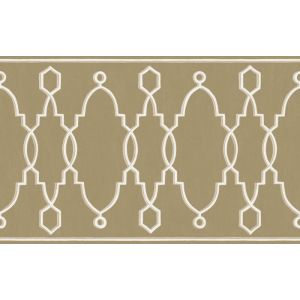 99/3017-CS PARTERRE BORDER Gold Cole & Son Wallpaper