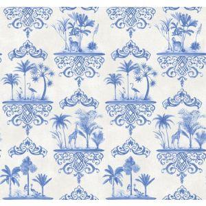 99/9037-CS ROUSSEAU Cobalt Blue Cole & Son Wallpaper