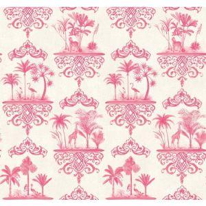 99/9041-CS ROUSSEAU Rose Pink Cole & Son Wallpaper