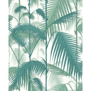 F111/2005-CS PALM JUNGLE Petrol Snow Cole & Son Fabric