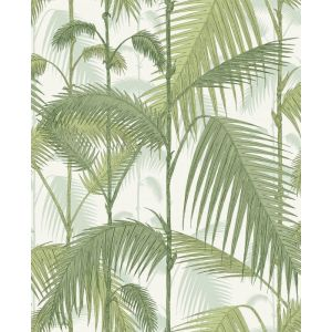 F111/2007-CS PALM JUNGLE Leaf Green Olive Cole & Son Fabric