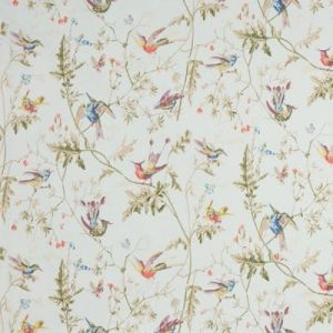 F62/1004-CS HUMMINGBIRDS Duck Egg Cole & Son Fabric