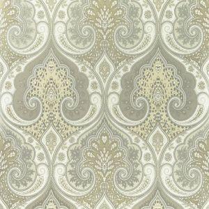PW78031-6 LATIKA Stone Silver Baker Lifestyle Wallpaper