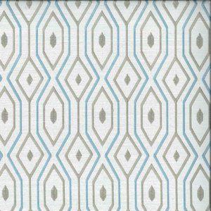 DUCHAMP Aquamarine Norbar Fabric