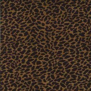LEOPARD Gold Norbar Fabric