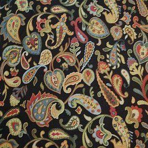 LEVIN Black Norbar Fabric