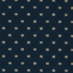 PLATO Navy Norbar Fabric